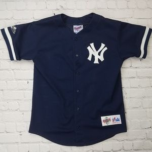 Authentic New York Yankees Youth Baseball Jersey